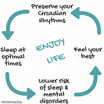 World Sleep Day 2018 – 'Preserve your rhythms to enjoy life!' What does this mean for our school-aged children?